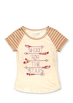 Miss Me Girls 'Shoot For The Stars' Tee Girls 7-16