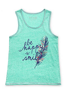 Miss Me Girls 'Be Happy & Smile' Tank Top Girls 7-16