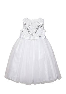 Marmellata Soutache Sequin Ballerina Dress Girls 4-6x