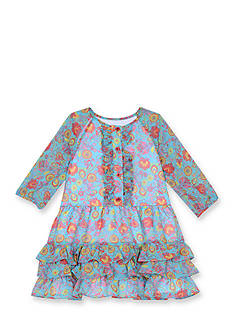 Marmellata Chiffon Floral Dress Girls