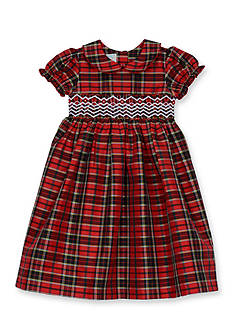 Marmellata Taffeta Smock Dress 4-6x Girls