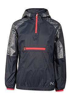 Under Armour® Popover Rain Shell Jacket Girls 7-16