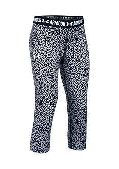 Under Armour HeatGear?? Armour Printed Pants Girls 7-16