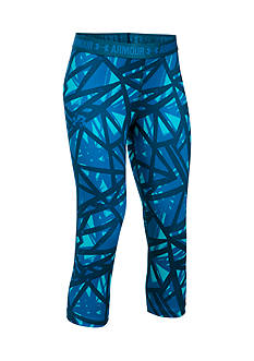 Under Armour HeatGear?? Armour Printed Pants Girls 7-16