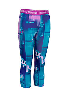 Under Armour® Printed Capris Girls 7-16