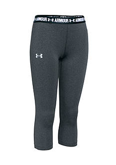 Under Armour® HeatGear Solid Capris Girls 7-16