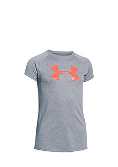 Under Armour® Short Sleeve Big Logo Tee Girls 7-16