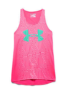 Under Armour® Big Logo Run Tank Top Girls 7-16