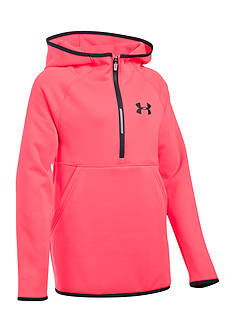 Under Armour Fleece 1/2 Zip Hoodie Girls 7-16