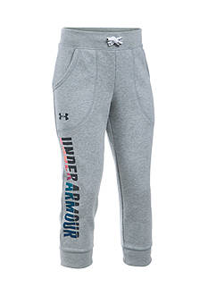 Under Armour Favorite Fleece Capri Pants Girls 7-16