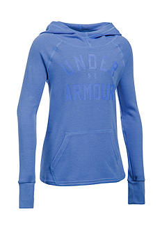 Under Armour Waffle Hoodie Girls 7-16