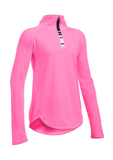 Under Armour® Tech 1/4 Zip Solid Pullover Girls 7-16