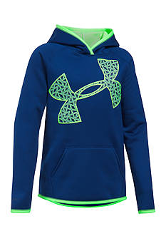 Under Armour Fleece Jumbo Logo Hoodie Girls 7-16