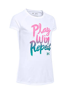 Under Armour 'Play Win Repeat' Tee Girls 7-16