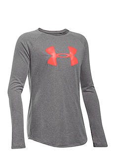 Under Armour® Big Logo Long Sleeve Pullover Girls 7-16