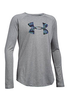 Under Armour Big Logo Long Sleeve Pullover Girls 7-16