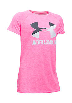 Under Armour® Novelty Big Logo Tee Girls 7-16
