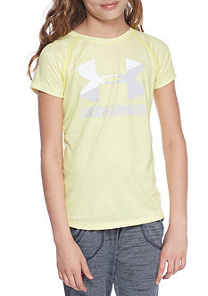 Under Armour Novelty Big Logo Tee Girls 7-16