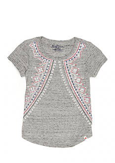Lucky Brand Feila Powderprint Top Girls 4-6x