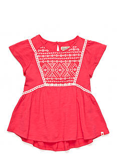 Lucky Brand Francis Embroidered Top Girls 7-16