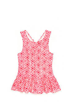 Lucky Brand Christina Printed Tank Top Girls 7-16