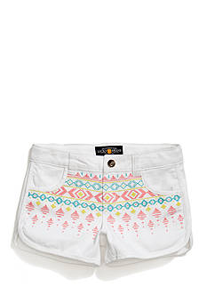 Lucky Brand Jada Embroidered Shorts Girls 7-16