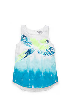 Lucky Brand Parrot High Low Tank Top Girls 7-16