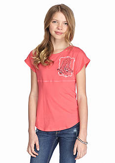 Red Camel® 'Southern and Sassy' Sweeper Tee Girls 7-16