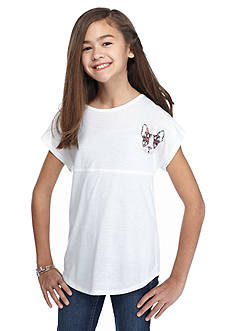 Red Camel® 'Be Happy' Printed Sweeper Top Girls 7-16