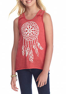 Red Camel® Printed Dreamcatcher Tank Top Girls 7-16