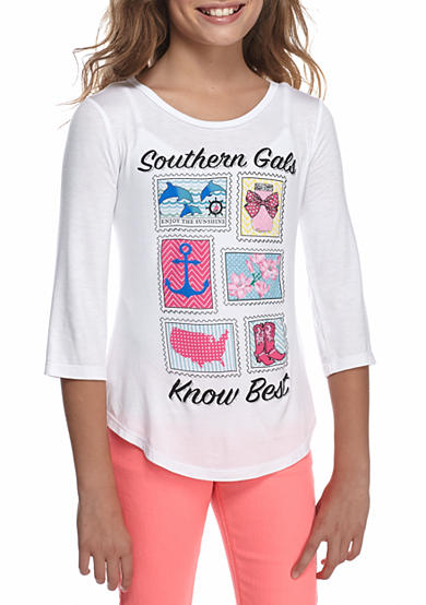 Red Camel® Southern Stamps Tee Girls 7-16
