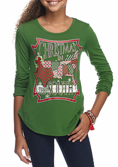 Red Camel® Christmas in The South Top Girls 7-16