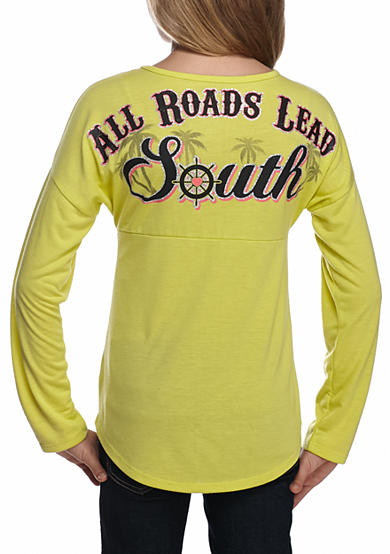 Red Camel® All Roads Lead South Sweeper Top Girls 7-16