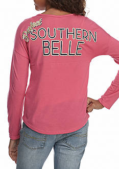 Red Camel® Mason Jar Southern Girl Top Girls 7-16