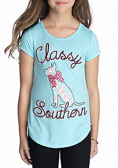Red Camel® Classy Southern Dog Tee Girls 7-16