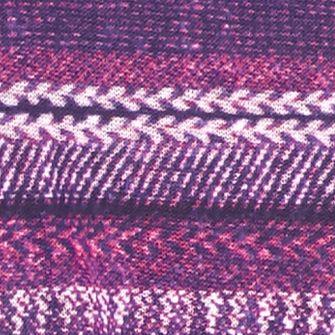 Purple Girls Clothing 7-16: Plum Red Camel Printed Hacci Top Girls 7-16