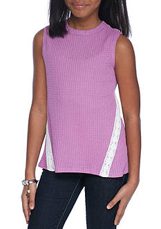 Red Camel Waffle Knit Tank Girls 7-16