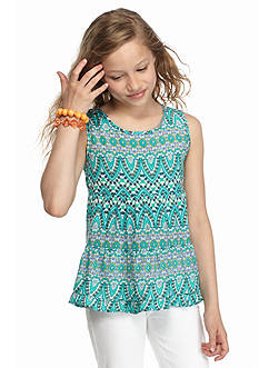 Red Camel® Shally Printed Tank Top Girls 7-16