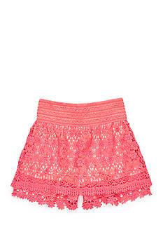 Red Camel Crochet Lace Skort Girls 7-16