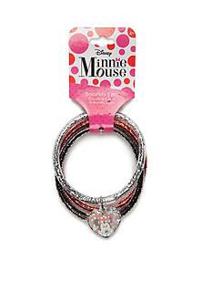 Disney Minnie Mouse 3-Piece Bracelet Set