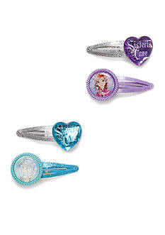 Disney® 4-Piece Frozen Hair Clip Set
