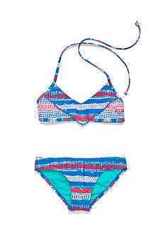 Roxy Girls™ 2-Piece All Mixed Up Flutter Bikini Set Girls 7-16