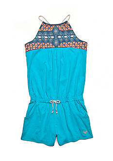 Roxy Girls™ Sunbreeze Tribal Embroidered Romper Girls 7-16