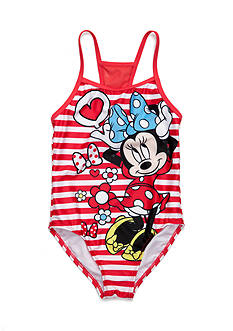 Disney® Minnie Mouse 1-Piece Swimsuit Girls 4-6x