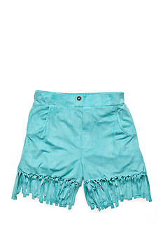 tempted™ Solid Suede Fringe Shorts Girls 7-16