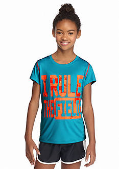 JK Tech™ 'I Rule the Field' Screen Tee Girls 7-16