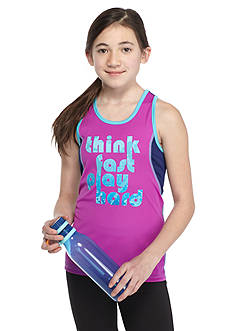 JK Tech™ 'Think Fast Play Hard' Tank Top Girls 7-16