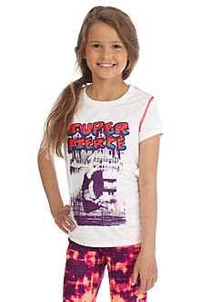 JK Tech 'Super Fierce' Graphic Tee Girls 7-16