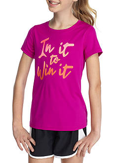 JK Tech® 'In it to Win It' Graphic Top Girls 7-16