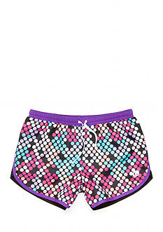 JK Tech Multi Dot Print Shorts Girls 7-16